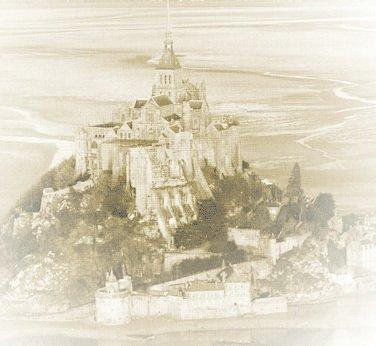 Rencontres amis : Le Mont Saint-Michel sous la pluie dans Loisirs Mont-Saint-Michel