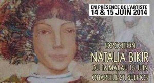 L'exposition de Natalia Bikir