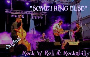 Le groupe de rock Something Else