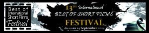 13th International Best of Short films Festival