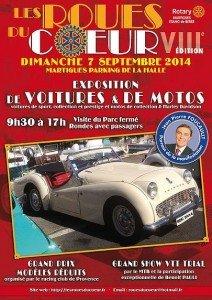 Racing Club de Provence : exposition de voitures et motos
