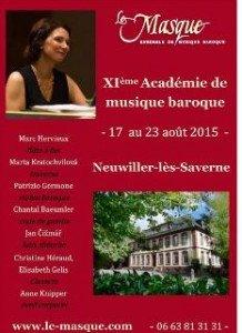 L'Académie de musique baroque