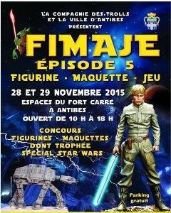 Le FIMAJE, le Festival de La Figurine, des Maquettes et des Jeux