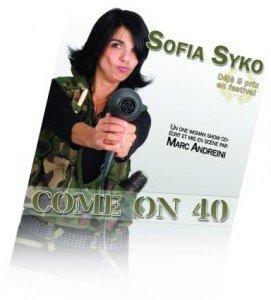 L'humoriste  Sofia Syko