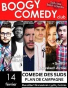 Le Boogy Comedy Club