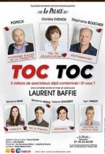 La comédie Toc Toc