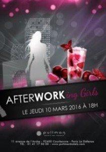 Afterworking Girls de L'Hôtel Pullman Paris La Défense