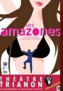 La comédie Les Amazones