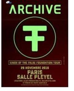 Le concert d'Archive