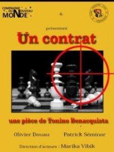 La comédie Un contrat