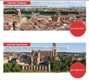 City-tour : visitez Toulouse en quelques heures !