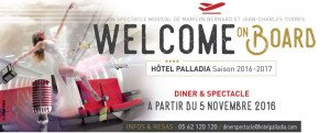 Welcome on Board : un spectacle pour voyager !