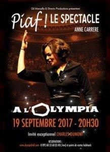 Rendez-vous à l'Olympia pour assister au spectacle Edith Piaf !