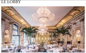 Le Lobby : un restaurant proposant de nouveaux menus !
