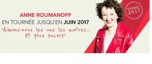 Anne Roumanoff vous invite à voir : Aimons-nous les uns !