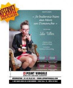 Julie Villers fait son show !