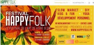Le Festival Happy Folk, prévu les 8 et 9 juillet au 88 Ménilmontant.