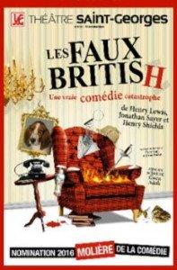 Les Faux British font leur show au Théâtre Saint-Georges.