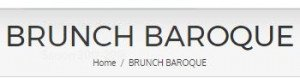 Ne loupez pas le brunch baroque proposé à Lyon !