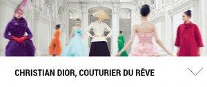 Christian Dior, une exposition a son effigie à découvrir lors de vos sorties !