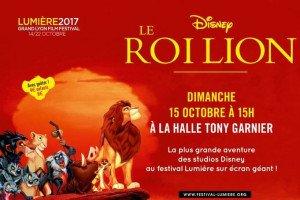 Ne manquez pas Le Roi Lion – Festival Lumière 2017.