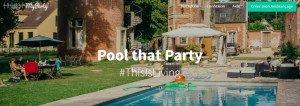 Amusez-vous avec vos amis à une sympathique Pool That Party !
