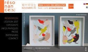 Rendez-vous au Salon Européen des Métiers d'Art 2017 à Strasbourg.