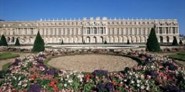 Parterre du Midi and the Chateau of Versailles, UNESCO World Heritage Site, Ile de France, France, Europe