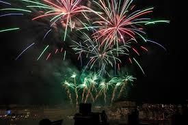 Un feu d'artifice pour célébrer la Fête Nationale